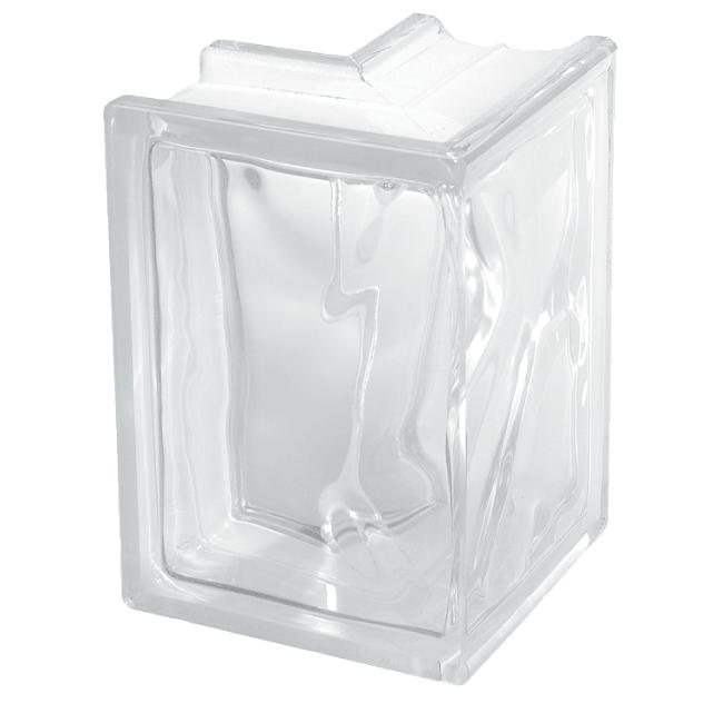 Glass blocks end seals